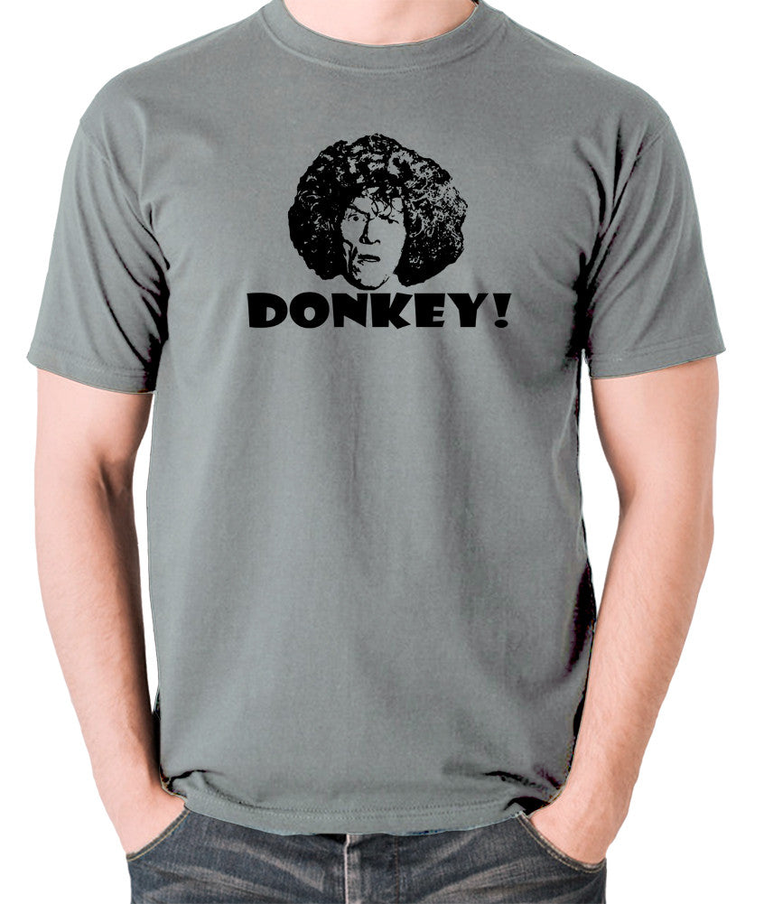 The Smell of Reeves and Mortimer - Uncle Peter, Donkey - Men's T Shirt - grey