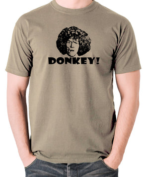 The Smell of Reeves and Mortimer - Uncle Peter, Donkey - Men's T Shirt - khaki