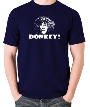 The Smell of Reeves and Mortimer - Uncle Peter, Donkey - Men's T Shirt - navy