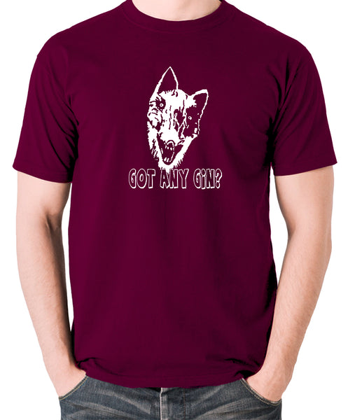 Shooting Stars - Donald Cox, Got Any Gin - Mens T Shirt - burgundy