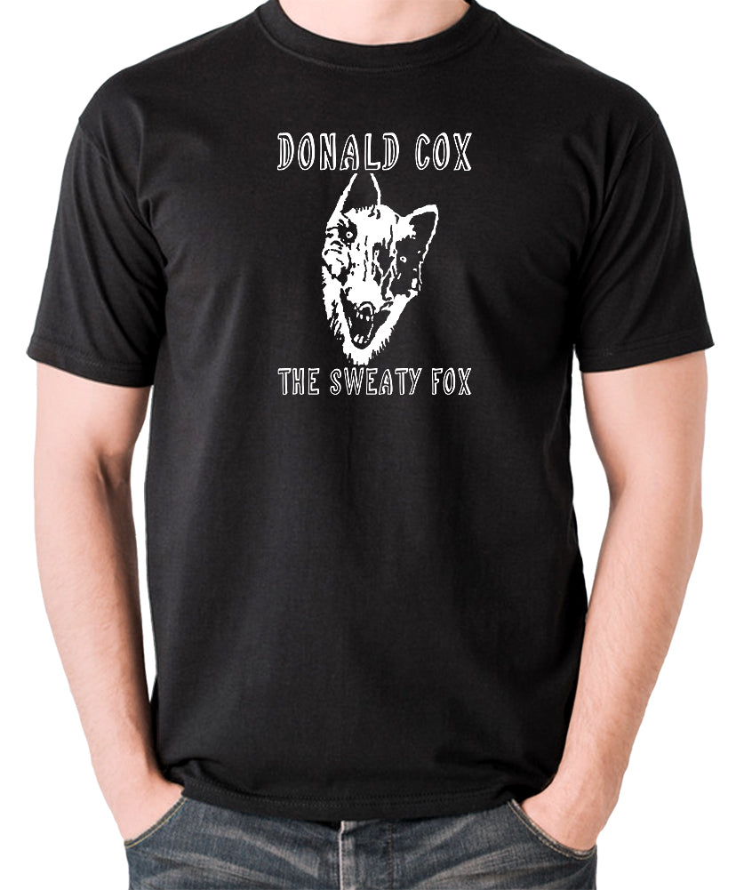 Shooting Stars - Donald Cox The Sweaty Fox - Mens T Shirt - black