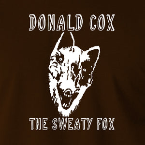 Shooting Stars - Donald Cox The Sweaty Fox - Mens T Shirt