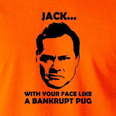 Shooting Stars - Jack Dee, Bankrupt Pug - Men's T Shirt