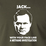 Shooting Stars - Jack Dee, Methane Investigation - Men's T Shirt