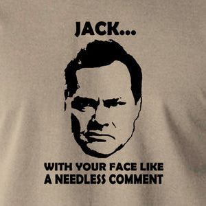 Shooting Stars - Jack Dee, Needless Comment - Men's T Shirt