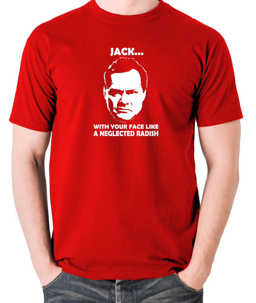 Shooting Stars - Jack Dee, Neglected Radish - Men's T Shirt - red