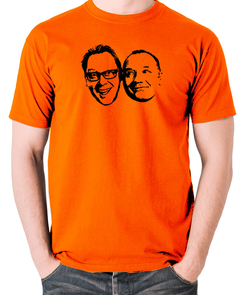 Shooting Stars - Vic and Bob - Men's T Shirt - orange