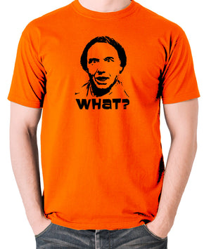 Shooting Stars - Q&B, What? - Men's T Shirt - orange