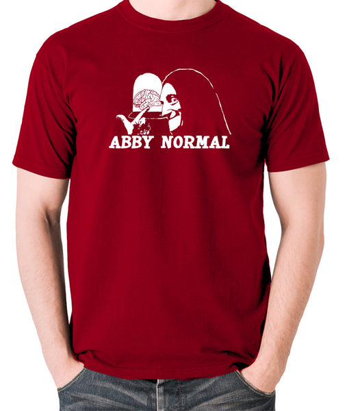 Young Frankenstein - Igor, Abby Normal - Men's T Shirt - brick red