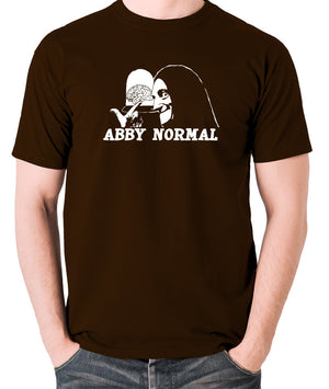 Young Frankenstein - Igor, Abby Normal - Men's T Shirt - chocolate