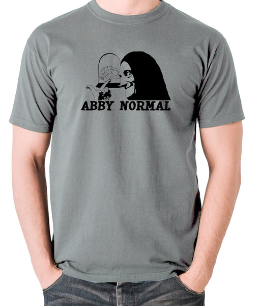 Young Frankenstein - Igor, Abby Normal - Men's T Shirt - grey
