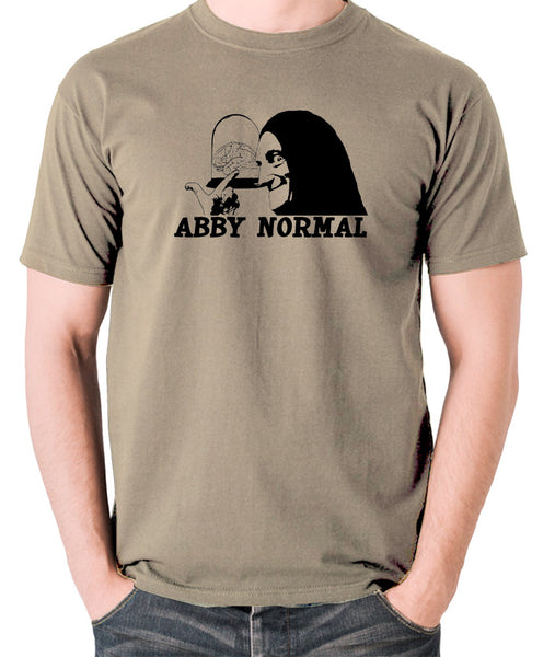 Young Frankenstein - Igor, Abby Normal - Men's T Shirt - khaki