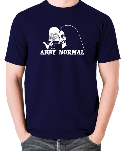 Young Frankenstein - Igor, Abby Normal - Men's T Shirt - navy