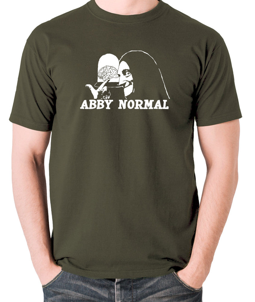 Young Frankenstein - Igor, Abby Normal - Men's T Shirt - olive