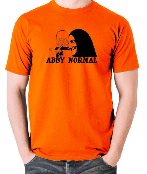 Young Frankenstein - Igor, Abby Normal - Men's T Shirt - orange