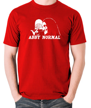 Young Frankenstein - Igor, Abby Normal - Men's T Shirt - red