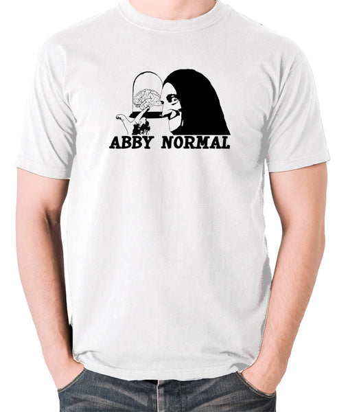 Young Frankenstein - Igor, Abby Normal - Men's T Shirt - white