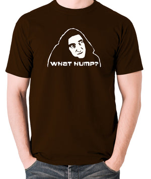 Young Frankenstein - Igor, What Hump? - Men's T Shirt - chocolate