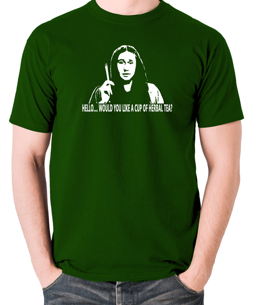 The Young Ones Herbal Tea T Shirt green