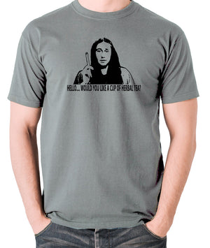 The Young Ones Herbal Tea T Shirt grey