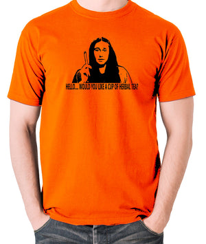 The Young Ones Herbal Tea T Shirt orange