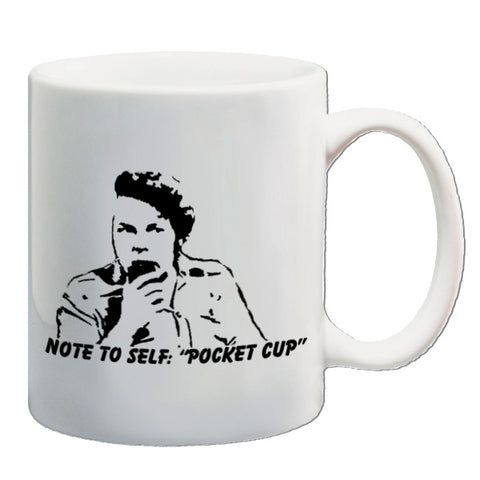 The Mighty Boosh | Note To Self...Pocket Cup | Mug