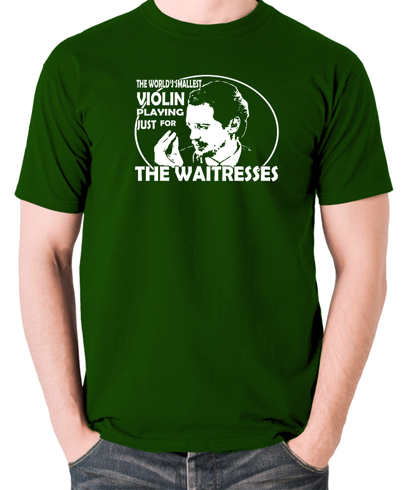 Reservoir Dogs - Mr Pink, The Worlds Smallest Violin Playing Just for the Waitresses - Men's T Shirt - green