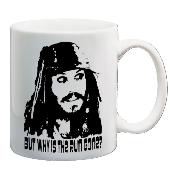 Pirates Of The Caribbean - But Why Is The Rum Gone? - Mug