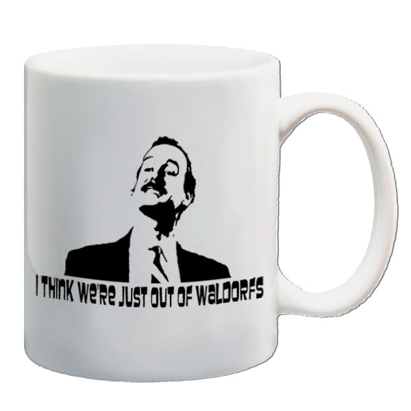 Fawlty Towers | I Think We're Just Out Of Waldorfs | Mug