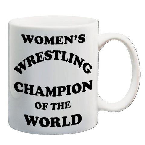 Andy Kaufman - Women's Wrestling Champion Of The World - Mug