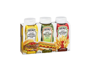 Condiments 3 x 375ml