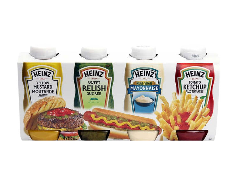 Condiments 4 x 750ml