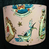 Sirens of the Sea lampshade