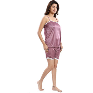 Fashigo Women's Pyjama Set - Wine colour