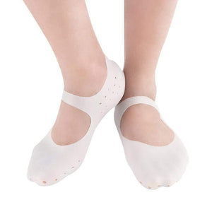 Cenizas Anti Crack Full Length Silicon Foot Protector Moisturizing Socks For Foot Care And Heel Cracks