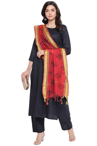 Cenizas Women's Rayon Cotton Salwar Suit