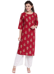 Cenizas Women's Straight Kurta