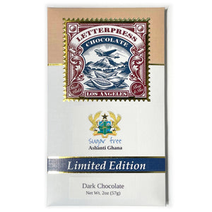 Ghana Dark Chocolate - Sugar Free