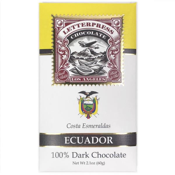 Wholesale - Ecuador, Costa Esmeraldas, 100% Dark Chocolate Case