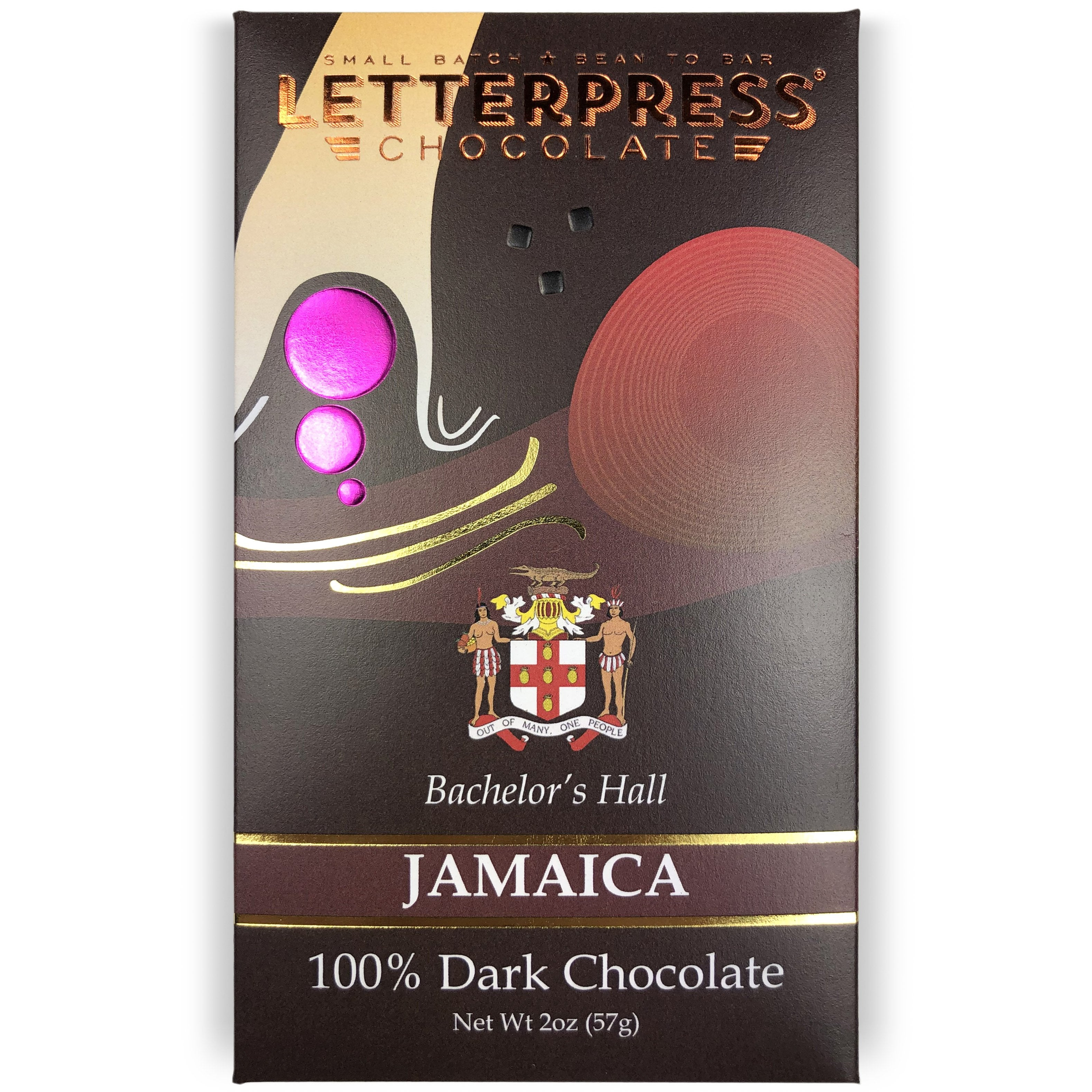 Wholesale - Jamaica, Bachelor's Hall Estate, 100% Dark Chocolate Case
