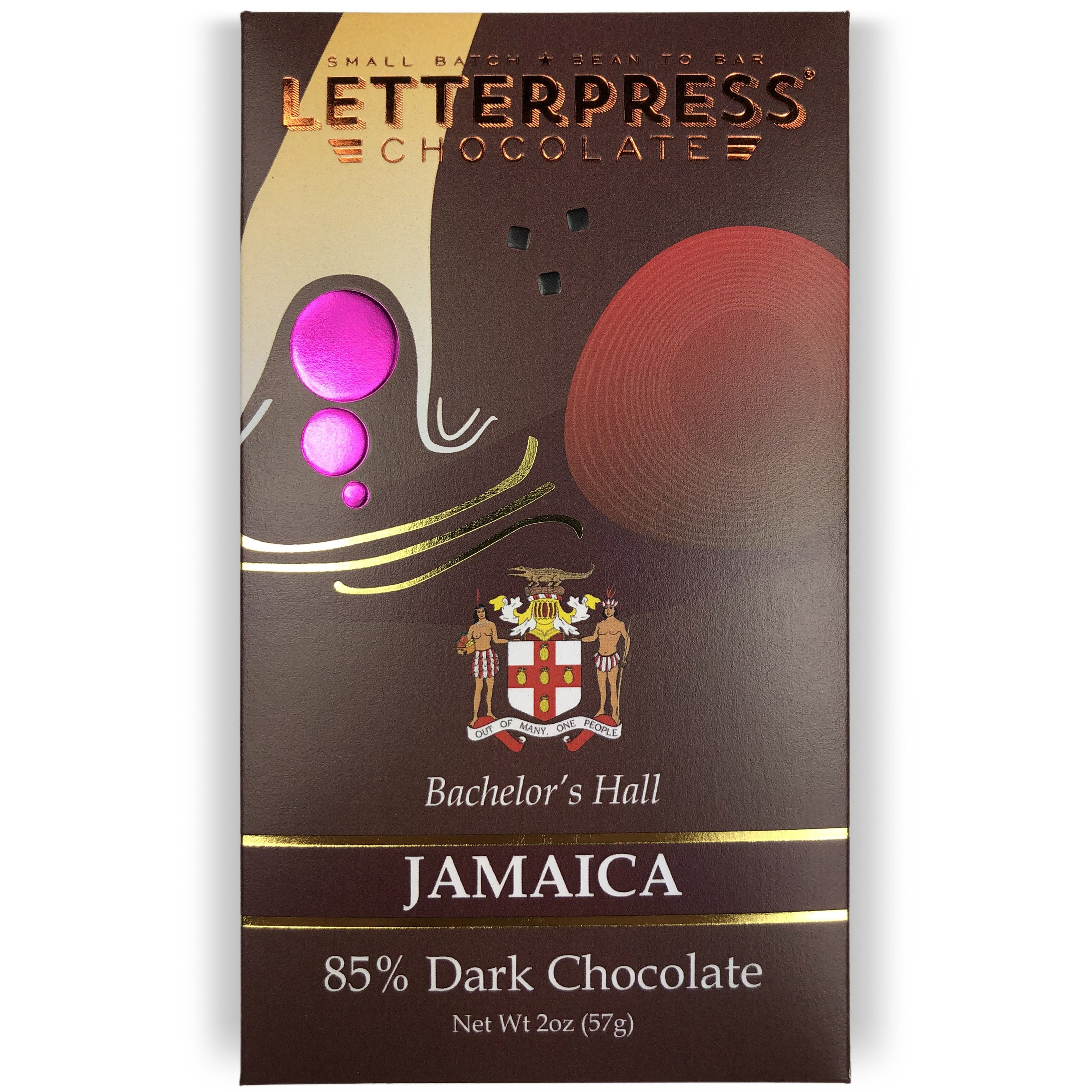 Wholesale - Jamaica, Bachelor's Hall Estate, 85% Dark Chocolate Case