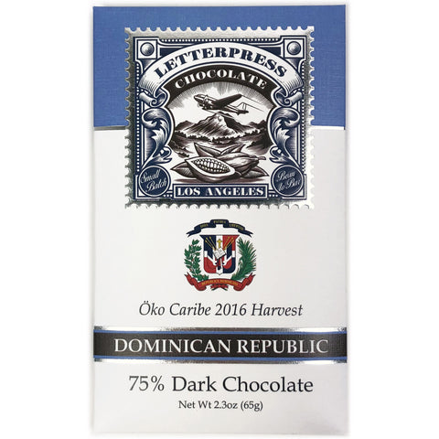 Dominican Republic, Öko Caribe, 75% Dark