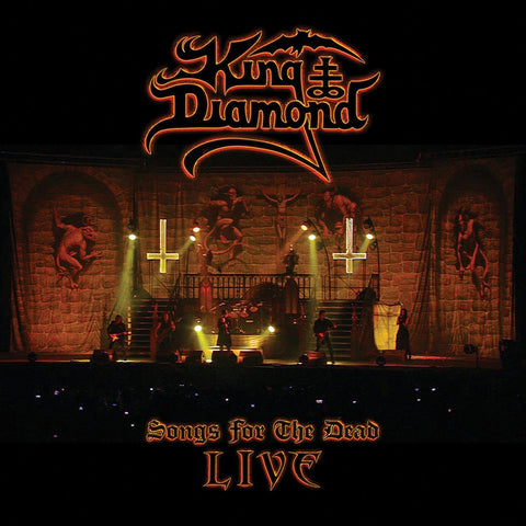 King Diamond Songs for the Dead 2XLp