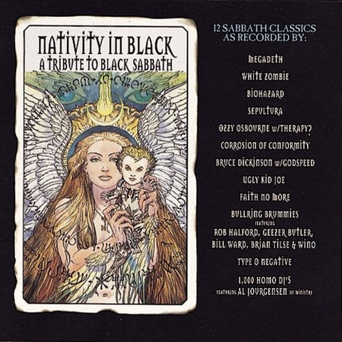 Nativity In Black: Tribute To Black Sabbath CD