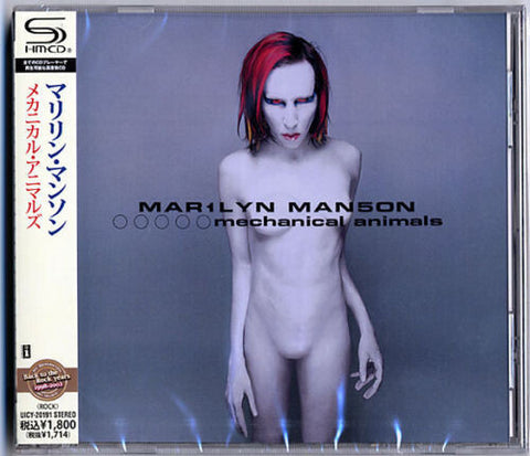 Marilyn Manson Mechanical Animals (SHM-CD) [Import] (Super-High Material CD, Japan - Import)