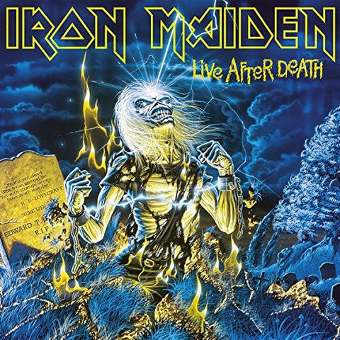 Iron Maiden Live After Death 2 180g Lp