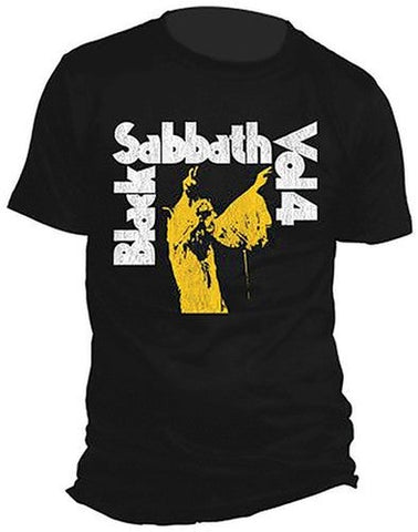 Black Sabbath Vol 4 Classic T Shirt