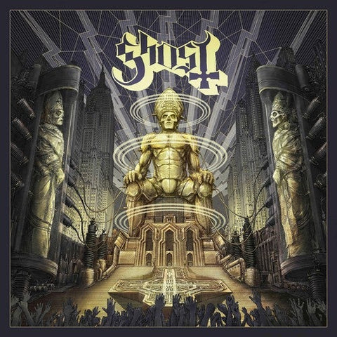 Ghost Ceremony and Devotion 150g 2 lp with bonus tracks