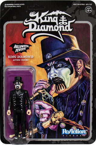 King Diamond Modern Top Hat ReAction Figure