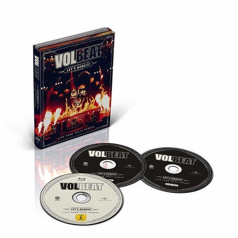 Volbeat Let's Boogie (Live From Telia Parken) (With CD) Blu-Ray